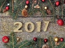 2017 nieuwjaar Stock Fotografie
