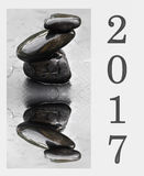 2017 nieuwjaar Stock Foto
