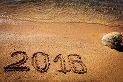 Nieuwjaar 2016 achtergrond Royalty-vrije Stock Afbeeldingen