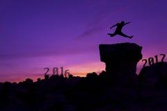 Nieuwjaar 2017 achtergrondconcept Royalty-vrije Stock Fotografie