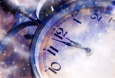 Nieuwjaar bij middernacht vector illustratie