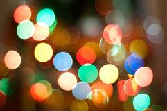Nieuwjaar boke Royalty-vrije Stock Foto's