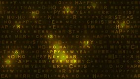 Nieuwjaar en Kerstmis glanzende bewegende achtergrond vector illustratie