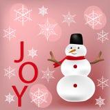 Nieuwjaar en Kerstmisgroet Stock Foto's