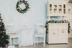 Nieuwjaar en Kerstmispunten Stock Fotografie