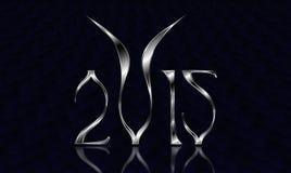 Nieuwjaar 2015 Geit Royalty-vrije Stock Afbeeldingen