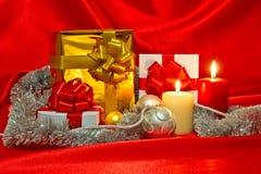 Nieuwjaar, het stilleven van Kerstmis Royalty-vrije Stock Afbeelding