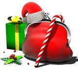 Nieuwjaar, Kerstmis Stock Afbeelding