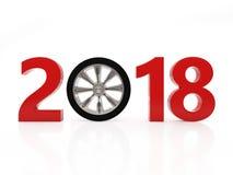 Nieuwjaar 2018 met Wiel Stock Fotografie