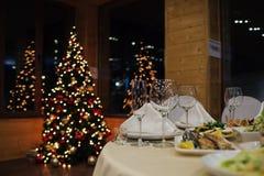Nieuwjaar mooie catering Royalty-vrije Stock Fotografie