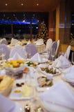 Nieuwjaar mooie catering Royalty-vrije Stock Afbeeldingen