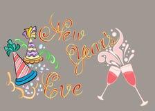 Nieuwjaar ooit Stock Foto
