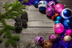 Nieuwjaar ` s en Kerstmis 16 Stock Fotografie