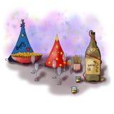 Nieuwjaar` s lijst Royalty-vrije Stock Afbeelding