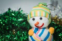 Nieuwjaar` s speelgoed royalty-vrije stock afbeeldingen