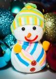 Nieuwjaar` s speelgoed Stock Foto