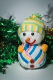 Nieuwjaar` s speelgoed Royalty-vrije Stock Fotografie
