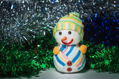 Nieuwjaar` s speelgoed Royalty-vrije Stock Foto's