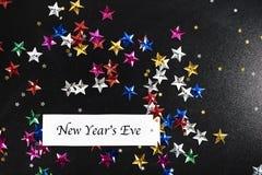 Nieuwjaar` s Vooravond royalty-vrije stock afbeeldingen