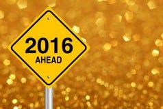 Nieuwjaar vooruit Royalty-vrije Stock Foto's