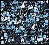 Nieuwjaarachtergrond Stock Afbeeldingen