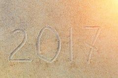 Nieuwjaarachtergrond met lensgloed Royalty-vrije Stock Afbeeldingen