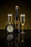2016 nieuwjaarconcept Royalty-vrije Stock Fotografie