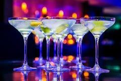 Nieuwjaardranken voor de Gebeurtenis van Gala Dinner of van de Cocktail party royalty-vrije stock fotografie