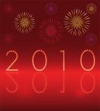 Nieuwjaarskaart 2010 Royalty-vrije Stock Foto's
