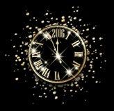 2016 Nieuwjaarskaart Stock Afbeeldingen