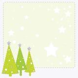 Nieuwjaarskaart Stock Afbeelding