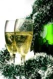 Nieuwjaarskaart Stock Foto's