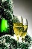 Nieuwjaarskaart Stock Foto