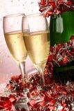 Nieuwjaarskaart Royalty-vrije Stock Afbeeldingen