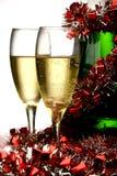Nieuwjaarskaart Royalty-vrije Stock Afbeelding