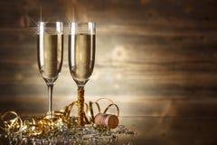 Nieuwjaarviering Stock Foto