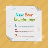 Nieuwjaarviering met resolutie vector illustratie