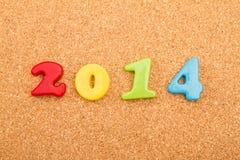 Nieuwjaarvooravond 2014 Stock Afbeelding