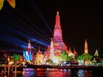 Nieuwjaarvuurwerk Thailand Stock Afbeeldingen
