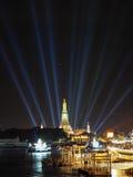 Nieuwjaarvuurwerk Thailand Royalty-vrije Stock Foto