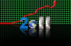 Nieuwjaren 2011 Stock Afbeeldingen