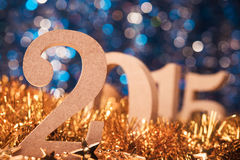 Nieuwjaren van 2015 Stock Afbeelding