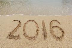 Nieuwjaren van 2016 Royalty-vrije Stock Afbeeldingen
