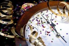 2012 nieuwjaren Van de Achtergrond partij Stock Afbeeldingen