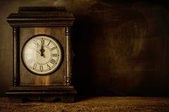 Nieuwjaren van de Vooravondgroet de prentbriefkaar Royalty-vrije Stock Afbeeldingen