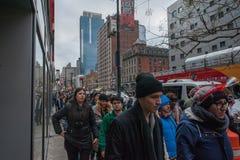 2015 nieuwjaren van Eve Times Square Stock Afbeeldingen