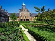 Nieuwkoop courtyard in The Hague, Netherlands Royalty Free Stock Photo