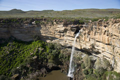 Nieuwoudtville waterfall Royalty Free Stock Images