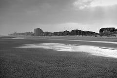 Nieuwpoort beach in Belgium Royalty Free Stock Photo