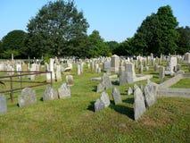 Nieuwpoort Rhode Island Cemetery Stock Afbeeldingen